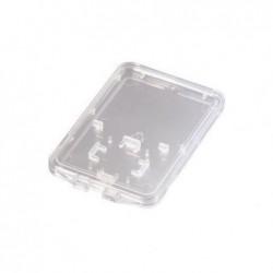 HAMA Boîtier de rangement mince pour cartes mémoire SD + microSD