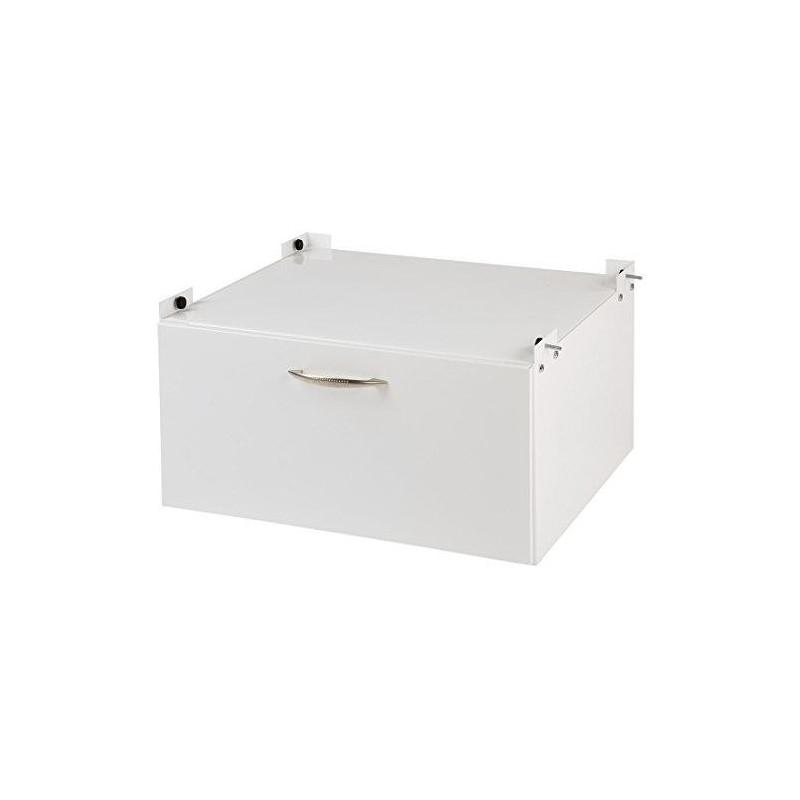 xavax socle avec tiroir pour lave linge et s che linge 61 x 50 cm stock bureau. Black Bedroom Furniture Sets. Home Design Ideas