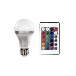 XAVAX Ampoule LED,E27,4,5W,forme ampoule à incand.,multicolore avec télécommande