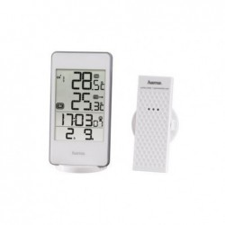 "HAMA Station météorologique ""EWS-840"" blanc"