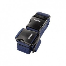 HAMA Sangle de bagage à 2 voies 5x200 cm/5x230 cm bleu foncé
