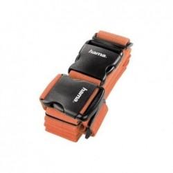 HAMA Sangle de bagage à 2 voies 5x200 cm/5x230 cm orange