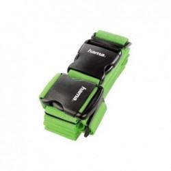 HAMA Sangle de bagage à 2 voies 5x200 cm/5x230 cm vert