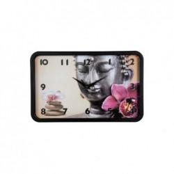"HAMA Horloge murale ""Buddha Blume"" mécanisme silencieux"