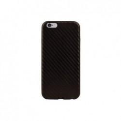BLACK ROCK Coque flex carb Iphone6+ marron