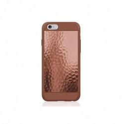BLACK ROCK Coque fer martele iPhone 6 bronze