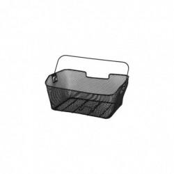 HAMA Panier de vélo pour porte-bagages, noir