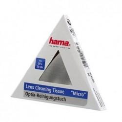 """HAMA Chiffons de nettoyage """"Micro"""" 20 x 20 cm pour lentilles"""