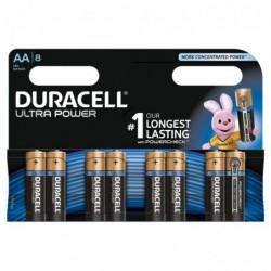 DURACELL Blister de 8 piles AA Ultra Power