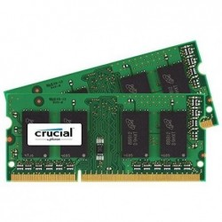 CRUCIAL TECHNOLOGY Mémoire RAM 4GB KIT (2GB X2 ) DDR3 1600 MT/S PC3-12800 800 MHz
