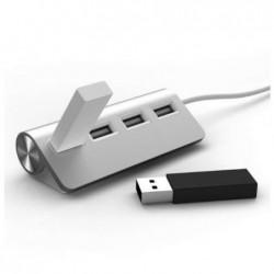 MOBILITY LAB HUB USB en Alu 4 ports 2.0 pour Mac et Apple