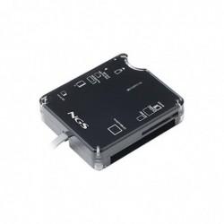 NGS Lecteur de carte USB 2.0 Multireader All in one Noir