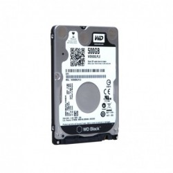 "WESTERN DIGITAL Disque dur interne Black 2.5"" 500 Go 7200 RPM 32 Mo 9,5 mm"