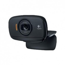 LOGITECH Webcam C525 8 mégapixels Reconnaissance faciale Compatible Skype/MSN/Facebook