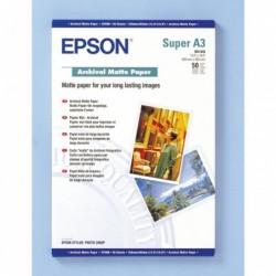 """EPSON paquet de 50 feuilles Papier """"Archival"""" Mat A3+ - 192 g/m²"""