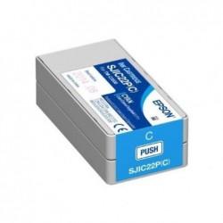 EPSON Cartouche jet d'encre pour  ColorWorks C3500 - Cyan