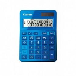 CANON Calculatrice de bureau 12 chiffres LS-123K Bleue