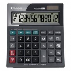 CANON Calculatrice de bureau AS-220RTS 12 chiffres Noir