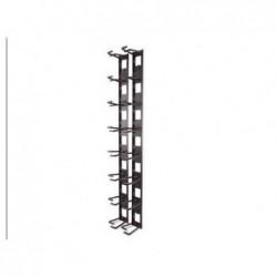APC Panneau de gestion de câbles sur rack (vertical) - noir
