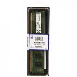 KINGSTON Mémoire RAM 2Go 1600MHz DDR3 Non-ECC CL11 DIMM 240-pin, 1.5V