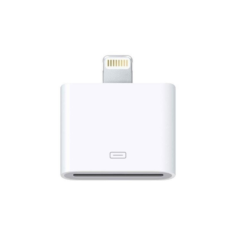 APPLE Adaptateur Original LIGHTNING iPhone 5 vers 30 PIN Blanc