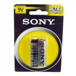 SONY Pile à Usage Général Sony S006PB1A Zinc Carbone 9 V