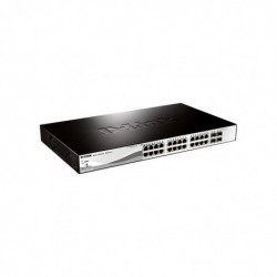 "D-LINK Switch 19"" Websmart 24 x GigaPOE + 4 SFP"