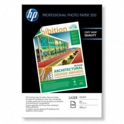 HP paquet de 100 feuilles Papier Photo A4 - 200 g/m²
