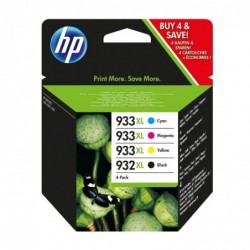 HP Pack 4 cartouches...
