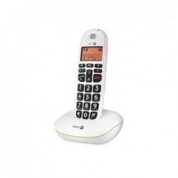 DORO Téléphone fixe sans-fil Phone Easy 100W Blanc