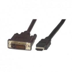MCL SAMAR CABLE HDMI MALE / DVI-D MALE 3M