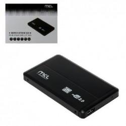 MCL SAMAR Boîtier externe USB 2.0 pour disque dur SATA 2,5'
