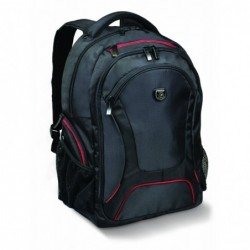 "PORT DESIGNS Sac à dos Courchevel Back Pack 17,3"" en nylon 600D - Dim L36 x H55 x P22 cm noir"