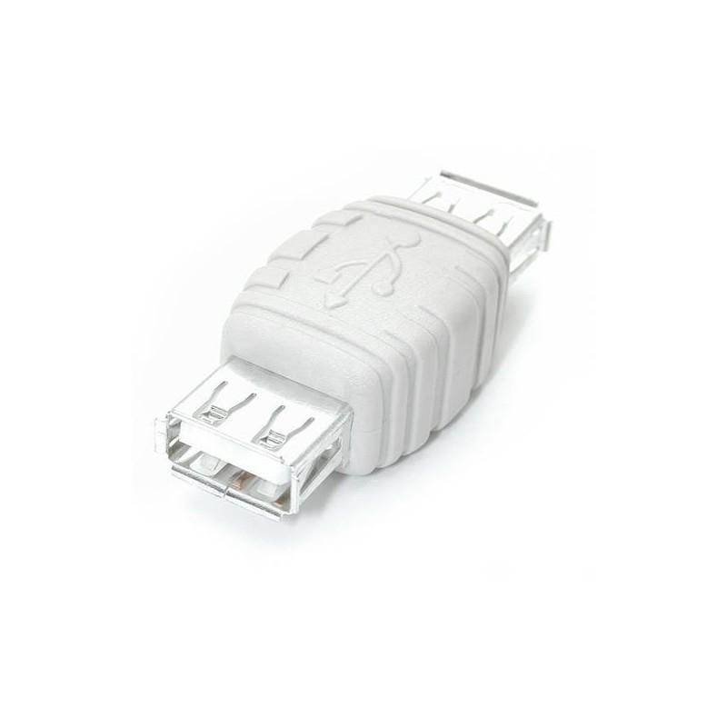 STARTECH.COM Changeur de genre Adaptateur USB A vers A F/F Blanc