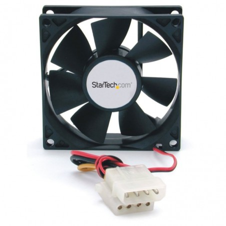 STARTECH.COM Ventilateur PC à Double Roulement à Billes  Alimentation LP4 80 mm