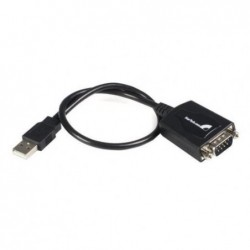 STARTECH.COM Câble Adaptateur de 30cm USB vers Série DB9 RS232