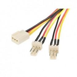 STARTECH.COM Câble d'alimentation en Y pour ventilateur Molex de 30 cm