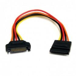 STARTECH.COM Câble d'extension d'alimentation SATA 15 broches 20 cm
