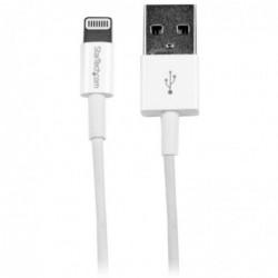STARTECH.COM Câble pour Apple® Lightning vers USB pour iPhone / iPod / iPad de 1m Blanc