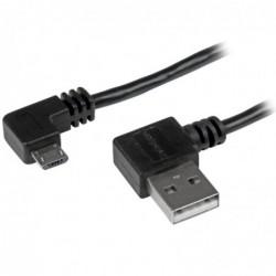 STARTECH.COM Câble USB A vers Micro B de 1 m  avec connecteurs coudés à angle droit