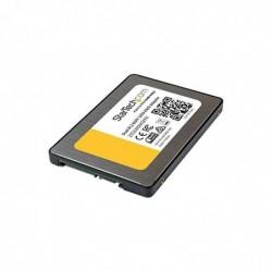 STARTECH.COM Adaptateur pour disque dur 2 x SSD M.2 vers SATA avec RAID Noir/Argent