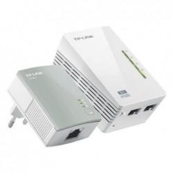 TP-LINK Kit CPL Wifi 500Mbits 1 adapt. Wifi + adapt. RJ45