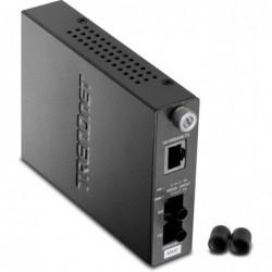 TRENDNET Convertisseur FIBRE ST Multi-Mode 100 Base-TX vers 100Base-FX, TFC-110MST