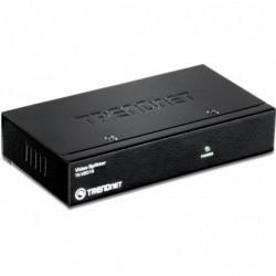 TRENDNET Splitter vidéo 2 ports VGA Métal Noir