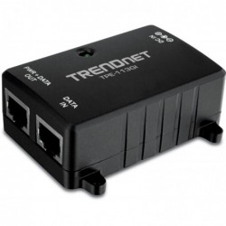 TRENDNET Injecteur Power Over Ethernet Gigabit 15,4W Noir