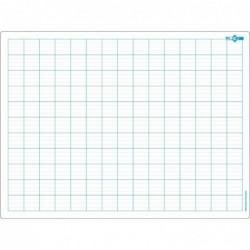 JPC Educ'ardoise effaçable 24 x 32 cm Seyes et double ligne