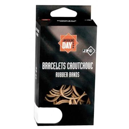 JPC Bracelets caoutchouc Elastique 200  x 16 mm Etui 100 g