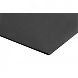 JPC Lot de 50 Cartons mousse epaisseur 5 mm format A4 21 x 29,7 cm Noir
