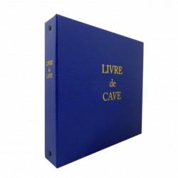 ELVE Livre de cave à Anneaux et recharge 230X245 mm Bleu