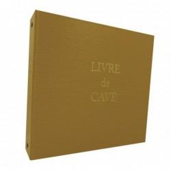 ELVE Livre de cave à Anneaux et recharge 230X245 mm Jaune